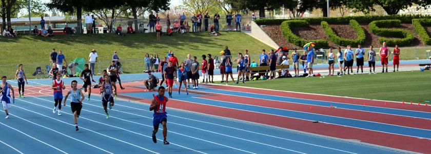 Kids Running Track